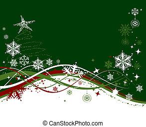 christmas holiday, háttér, vektor, ábra, helyett, -e, tervezés