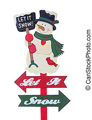 Christmas Holiday Sign