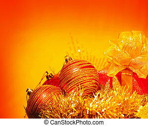 Christmas holiday still life