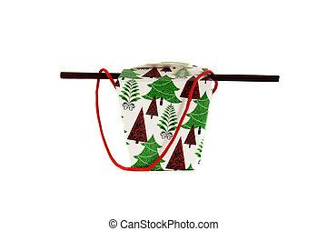 christmas holiday themed holiday box