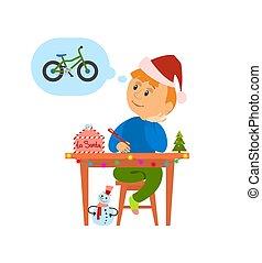 Christmas Holidays Preparation, Letter to Santa