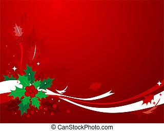 Christmas Holly #1