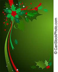 Christmas Holly #3