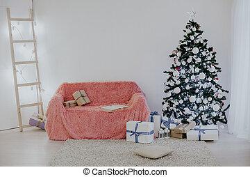 Christmas home decor Christmas tree winter holliday