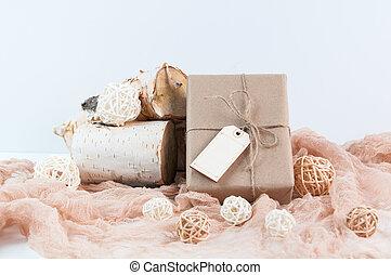 Christmas Home Decor - Nutral Christmas home decor