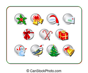 Christmas Icon Set 1
