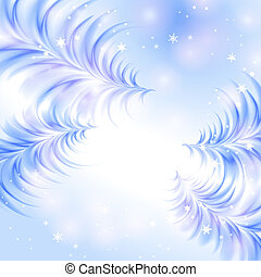 Christmas icy abstract background