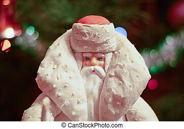 Christmas illustration of Santa Claus