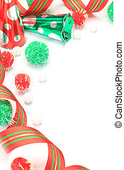 I imaged Christmas with ribbon and an accessory.