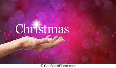 Christmas in the palm of your hand