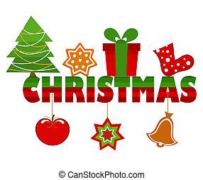 Christmas inscription