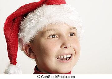 Christmas joy - Joyous face