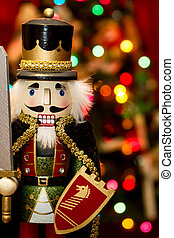 Christmas King Nutcracker Statue - King nutcracker statue...