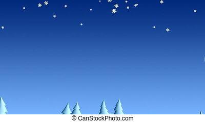 Christmas landscape 03