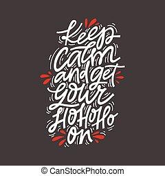 Christmas Lettering Design