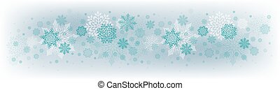 Christmas light design with a set of beautiful snowflakes