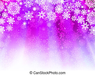 Christmas light purple background. EPS 8