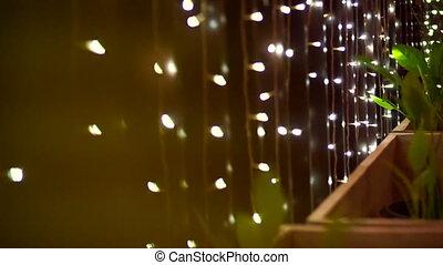 Christmas lighting holiday season