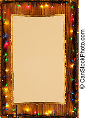 Christmas lights, abstract background