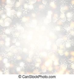 Christmas lights and snowflakes 1311