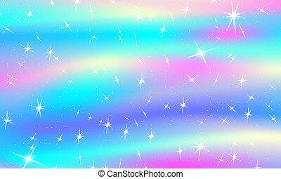 Christmas lights background. Rainbow colors