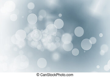 christmas lights, op, blauwe , achtergrond.