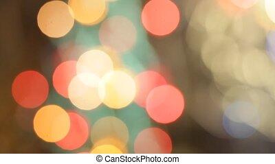 Christmas lights random blinks