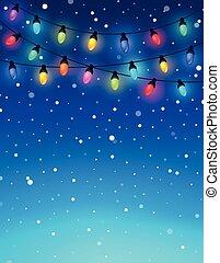 Christmas lights theme image 3