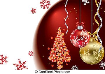 Christmas luxury frame