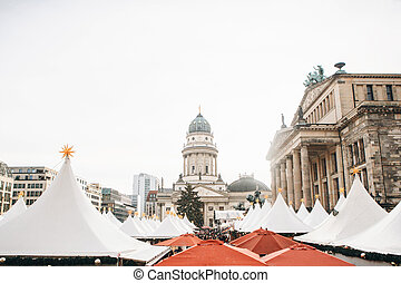 Christmas market in Berlin.