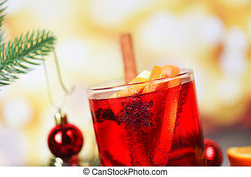 Christmas mulled wine delicious holiday like parties with orange cinnamon star anise spices for traditional christmas drinks winter holidays homemade red mulled wine glasses