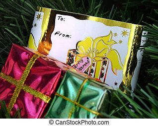 name card - christmas name card