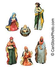 Christmas Nativity Design Elements
