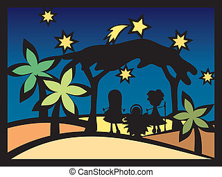 Christmas Nativity. Christmas Nativity. Christmas Card