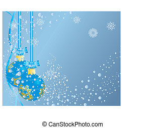 Christmas (New Year) background