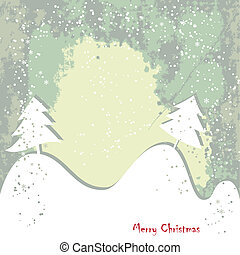 Christmas , New Year greeting grundy card