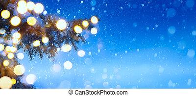 Christmas night background