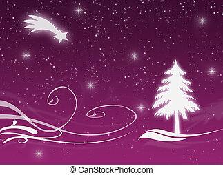 Christmas night - Christmas time with this Christmas card
