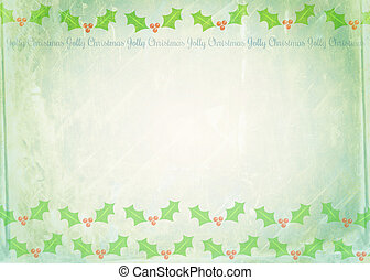 Christmas Note Paper