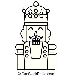 Christmas nutcracker design