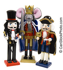 Christmas Nutcrackers , drusselmeyer and nutcracer prince,...