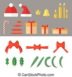 Christmas Objects Set