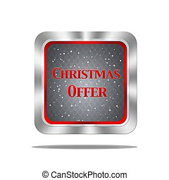 Christmas offer button.