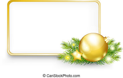 Christmas Or New Year Frame