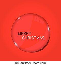 Christmas Orb Illustration