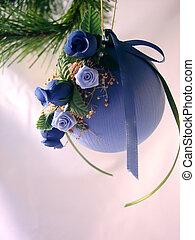 Christmas Ornament - A handmade Christmas ornament with ...