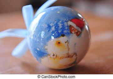 Christmas ornament ball