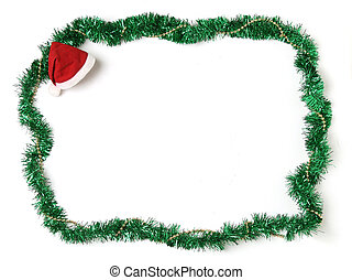Christmas ornament border