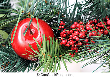 Christmas ornament for background