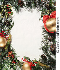 christmas ornament - frame
